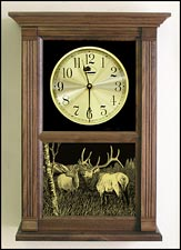 bull elk clock and Gifts for Hunters