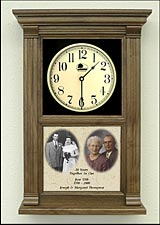 anniversary photo clock