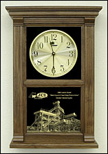 Etched Awards Clock