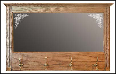 hall mirrors and mirror coat racks