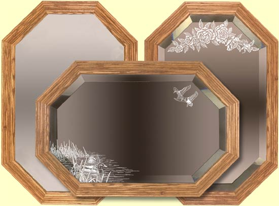 Handcrafted Decorative Mirrors Decorative Wooden Mirror