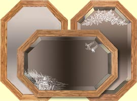 Handcrafted Decorative Mirrors and engraved mirror