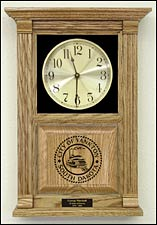 logo awards clock