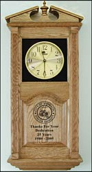 Achievement Awards and corporate logo clocks