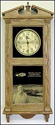 personalized awards clock